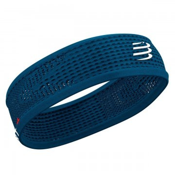 Compressport Thin Headband On/Off Blue