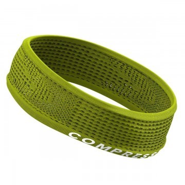 Compressport Thin Headband On/Off Lime