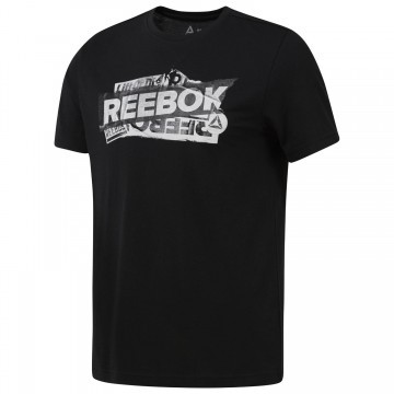 Reebok Gs Reebok Decal Tee Black