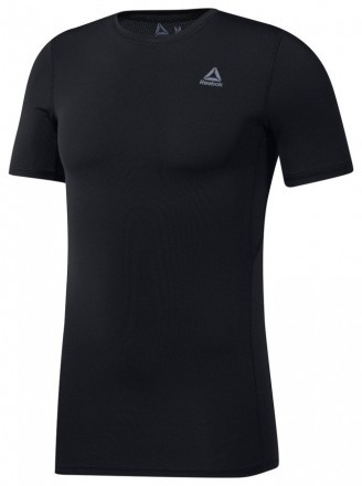 Reebok Wor Short Sleeve Compression Black