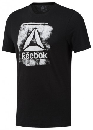 Reebok GS Stamped Logo Crew Black