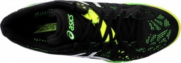 Asics Gel-Fireblast 2 9001 Black-Yellow
