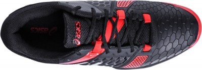 Asics Gel-Blast 7 Black/Silver/Red buty do badmintona