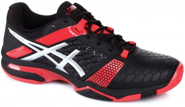 Asics Gel-Blast 7 Black/Silver/Red