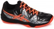 Asics Gel-Fastball 3 Black Orange buty do badmintona