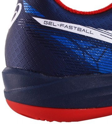 Asics Gel-Fastball 3 Blue White Red buty do badmintona