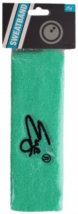 Eye Head Band Turquoise Black Logo