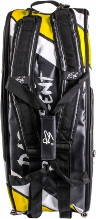 Eye Racket Bag 10R Black / Yellow