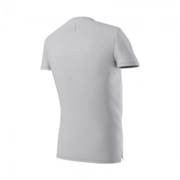 Eye V-Neck Light Grey / Pink