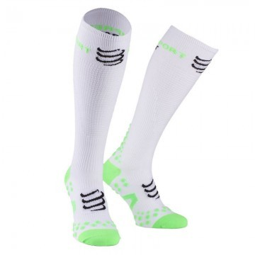 Compressport Racket Full Socks White