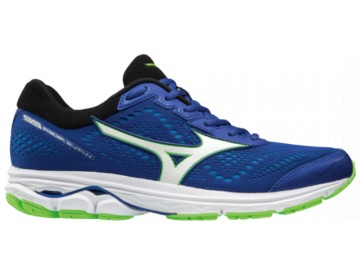 Mizuno Wave Rider 22 Surh The Web / White / Green Gecko