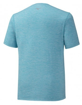 Mizuno Impulse Core Tee Peacock Blue