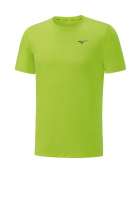 koszulka męska Mizuno Impulse Core Tee Blue Safety Yellow