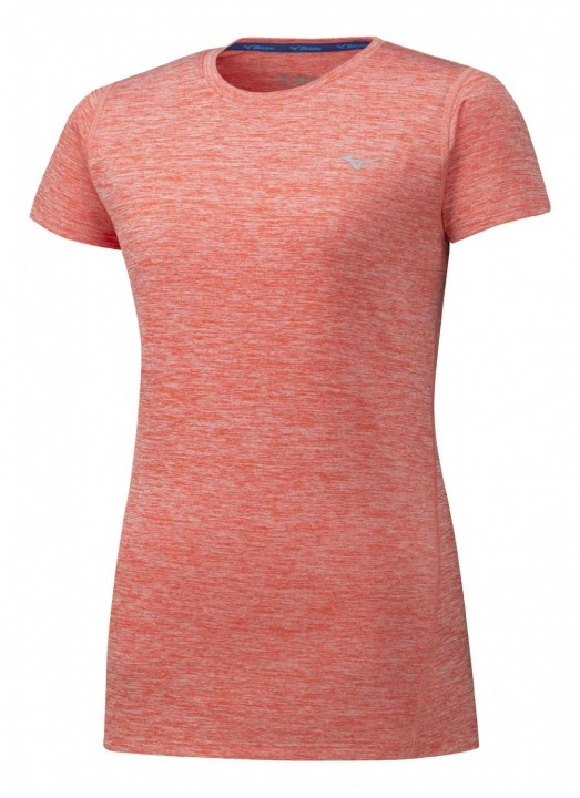 Mizuno Impulse Core Tee Hot Coral