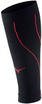 Mizuno Compression Supporter Black Red