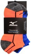Mizuno Active Training Mid Orange/Blue 2 Pack