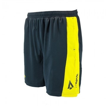 Karakal Pro Tour Shorts Graphite / Yellow