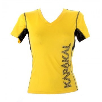 Karakal Pro Tour Lady Tee Yellow