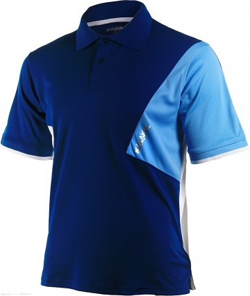 Karakal Dijon Button Polo Navy