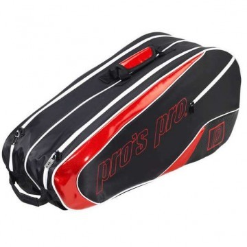 Pro's Pro L112 Racketbag 8R Black / Red