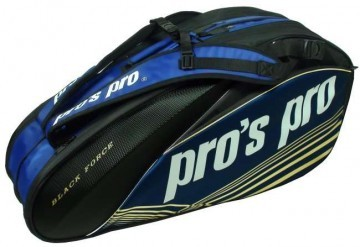 Pro's Pro L123 Force Racketbag 8R Black / Navy