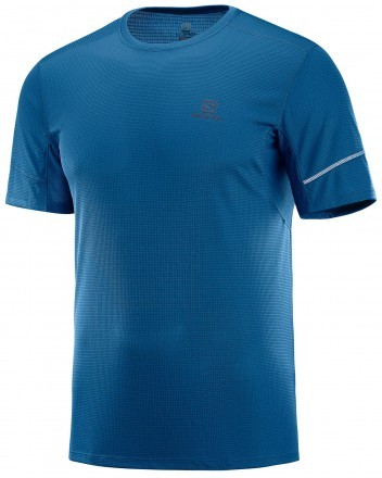 Salomon Agile Short Sleeve Tee Poseidon