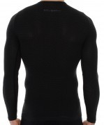 Brubeck Unisex Base Layer Długi Rękaw Grafit