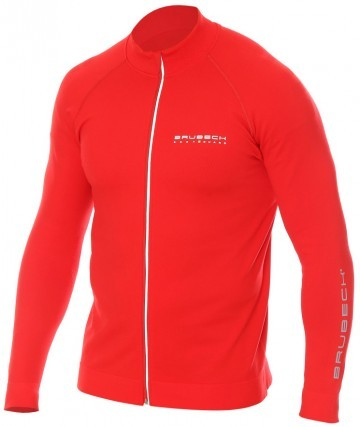 Brubeck Bluza Męska Athletic Red