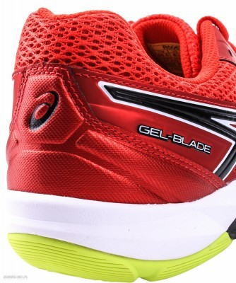 Asics Gel-Blade 5 2390 Red buty do badmintona