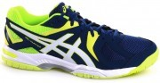 Asics Gel-Hunter 3 White Safety Yellow <span class=lowerMust>buty do badmintona</span>