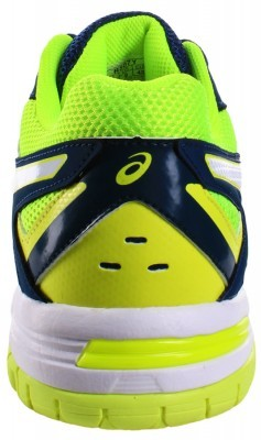 Asics Gel-Hunter 3 White Safety Yellow buty do badmintona