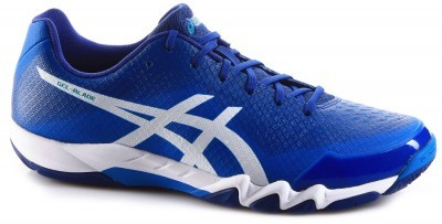 Asics Gel-Blade 6 Blue / White buty do badmintona