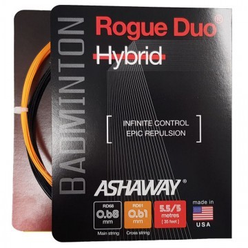 Ashaway Rogue Duo Hybrid Black / Orange - Box
