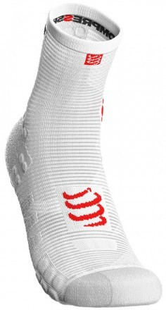 Compressport RacingSocks V 3.0 Run High White