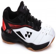 Yonex Power Cushion 65 R2 White Red SBM buty do badmintona