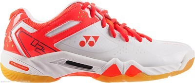 Yonex SHB 02 LX Coral/Orange buty do badmintona damskie