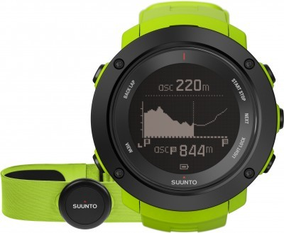 Suunto Ambit3 Vertical Lime + HR pas do mierzenia tętna