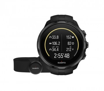 Suunto Spartan Sport Wrist HR All Black + Pas HR