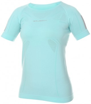 koszulka damska Brubeck Athletic Shirt Fresh Mint