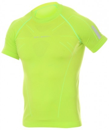 Brubeck Athletic Shirt Neon Green