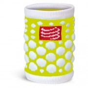 Compressport Sweat Band 3D Dots Fluo Yellow 2szt