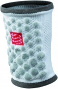 Compressport Sweat Band 3D Dots Biała 2szt