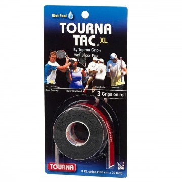 Tourna Tac XL 3er Black