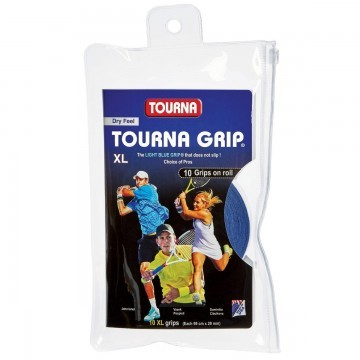 Tourna Grip XL 10er Blue