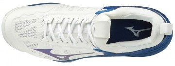 Mizuno Wave Momentum White / Trueblue
