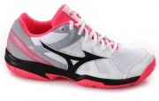 Mizuno Cyclone Speed White Black buty do badmintona damskie