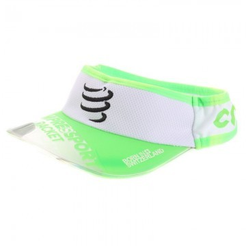 Compressport Racket Czapka Visor Cap White / Green
