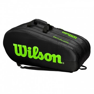 Wilson Team 3 Compartment Thermobag 15R Black / Green