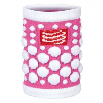 Compressport Sweat Band 3D Dots - Fluo Pink
