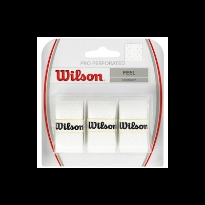 Wilson Pro Overgrip Perforated White